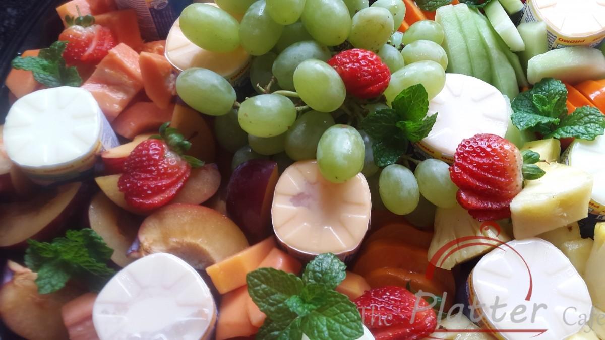 Fruit and Yoghurt Platter
