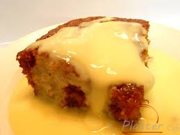 Malva pudding and custard